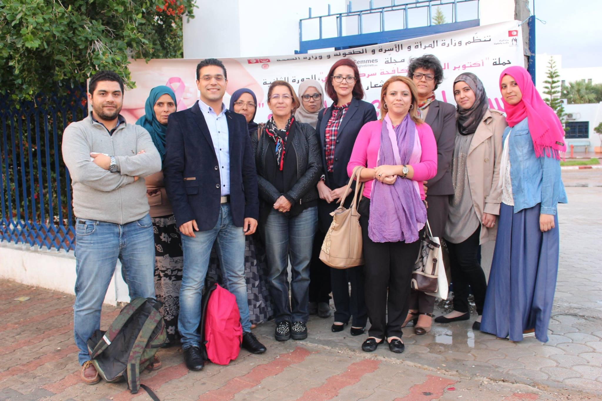 Octobre Rose : La caravane de santé arrive à ZARZIS et SIDI MAKHLOUF